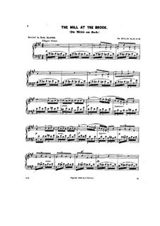 Scenes from Childhood, Op.62: No.10 The mill at the brook by Theodor Kullak