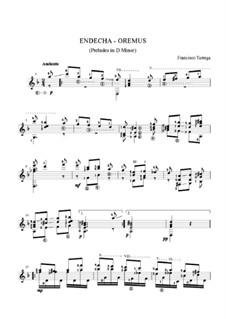 Preludes: Prelude No.34 by Francisco Tárrega