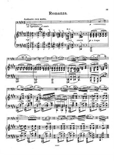 Sonata for Cello and Piano in A Major, Op.58: Movement II by Emil Sjögren