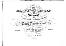 Pieces for Piano, Op.110: Book VI by Carl Czerny