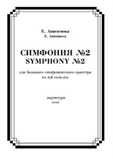 Симфония No.2 в 3-х частях для БСО: Симфония No.2 в 3-х частях для БСО by Ekaterina Anisimova