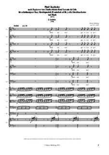 Fünf Chorlieder nach Baghavat von Charles-Marie-René Leconte de Lisle, Op.91: Fünf Chorlieder nach Baghavat von Charles-Marie-René Leconte de Lisle by Klaus Miehling
