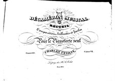 Pieces for Piano, Op.110: Book VII by Carl Czerny