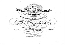 Pieces for Piano, Op.110: Book VIII by Carl Czerny
