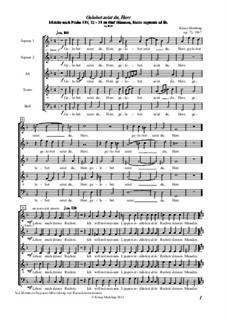 Gelobet seist du, Herr, Op.73: Gelobet seist du, Herr by Klaus Miehling