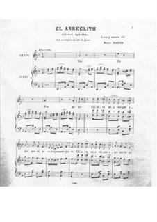 El Arreglito: For voice and piano by Sebastián Yradier