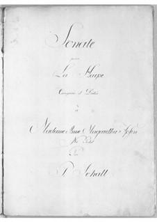 Sonata in D Minor: Sonata in D Minor by Peder Schall