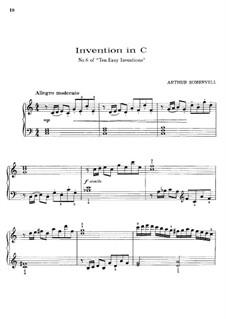 Invention No.6 in C Major: Invention No.6 in C Major by Arthur Somervell