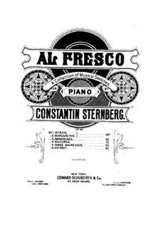 Al fresco, Op.22: No.3 Impatience by Constantin Sternberg