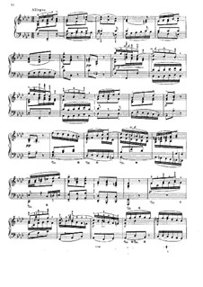 Concerto for Harpsichord and Strings No.5 in F Minor, BWV 1056: Movement III. Arrangement for piano by Johann Sebastian Bach
