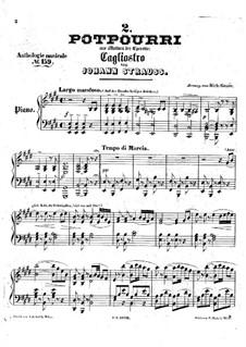 Cagliostro in Vienna. Potpourri No.2: Cagliostro in Vienna. Potpourri No.2 by Johann Strauss (Sohn)