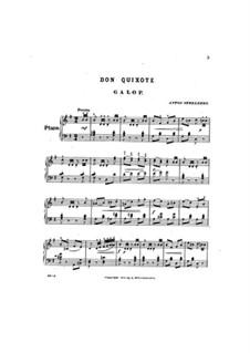 Don Quixote. Galop: Don Quixote. Galop by Anton Strelezki