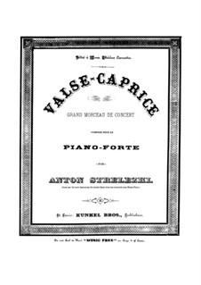Waltz-Caprice: Waltz-Caprice by Anton Strelezki