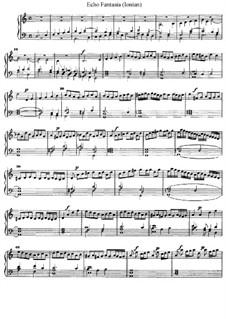 Echo Fantasia (Ionian), D.6: Echo Fantasia (Ionian) by Jan Pieterszoon Sweelinck
