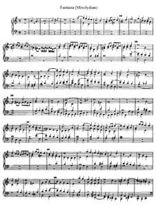 Fantasia, D.9: Fantasia by Jan Pieterszoon Sweelinck