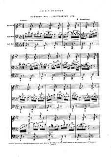 Czardas No.4: Czardas No.4 by Ernest Szemelényi