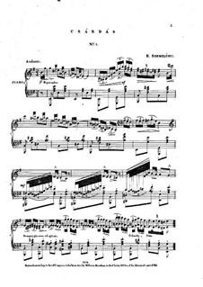 Czardas No.5: Czardas No.5 by Ernest Szemelényi
