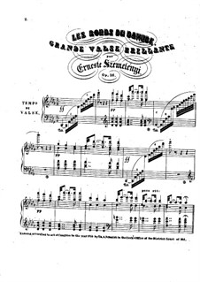Les bords du Danube, Op.36: Les bords du Danube by Ernest Szemelényi
