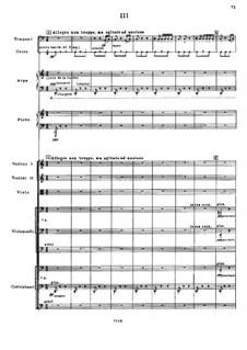 Symphony No.4, Op.60: Movement III by Karol Szymanowski