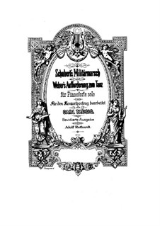 Invitation to the Dance, J.260 Op.65: For piano by Carl Maria von Weber
