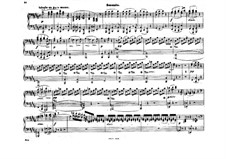 Fragments: Movement II. Version for piano four hands by Ludwig van Beethoven
