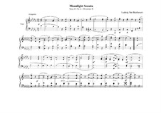 Movement II: For a single performer (high quality sheet music) by Ludwig van Beethoven