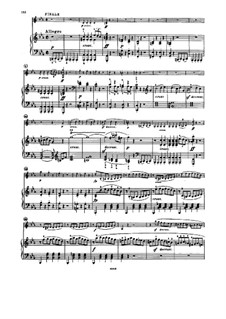 Sonata for Violin and Piano No.7, Op.30 No.2: Movement IV by Ludwig van Beethoven