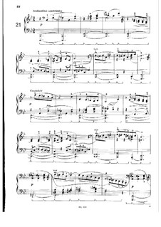Twenty-Four Preludes for Piano, BV 181 Op.37: Preludes No.21-24 by Ferruccio Busoni