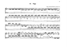 Fugue for Organ No.11 in G Minor: Fugue for Organ No.11 in G Minor by Johann Heinrich Buttstett
