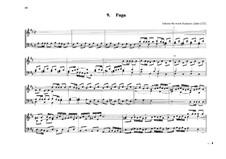 Fugue for Organ in D Major: Fugue for Organ in D Major by Johann Heinrich Buttstett