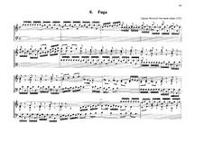 Fugue for Organ in C Major: Fugue for Organ in C Major by Johann Heinrich Buttstett