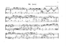 Suite for Organ in F Major: Suite for Organ in F Major by Johann Heinrich Buttstett