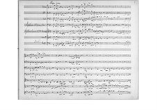 Septet for Winds and Strings No.3 in C Major, Op.30: Full score by Theodor Bernhard Sick