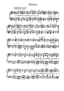 No.14 Polka: For piano by Pyotr Tchaikovsky
