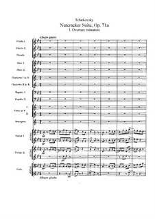 Complete Movements: Full score by Pyotr Tchaikovsky