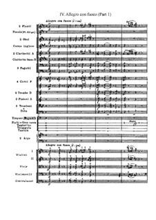 Manfred Symphony, TH 28 Op.58: Movement IV, part I by Pyotr Tchaikovsky