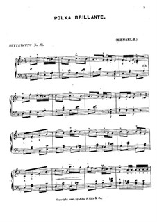 Polka Brillante: Polka Brillante by Adolf von Henselt
