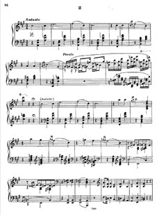 Sonata for Piano No.2, TH 123 Op.80: Movement II by Pyotr Tchaikovsky