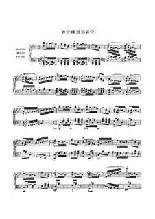 Scherzo: For piano by Felix Mendelssohn-Bartholdy