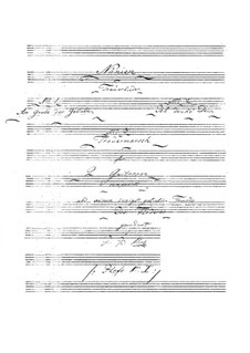 Nänien. No.1 Am Grabe der Geliebten: Nänien. No.1 Am Grabe der Geliebten by Johann Kaspar Mertz