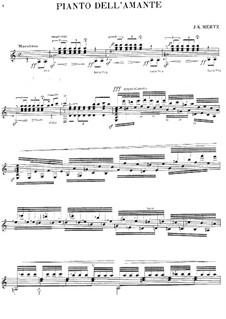Pianto dell'Amante: Pianto dell'Amante by Johann Kaspar Mertz