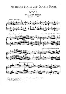 School of Scales and Double Notes, Op.64: Book II, part I by Moritz Moszkowski