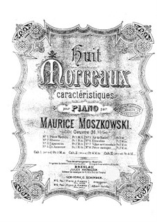 Eight Characteristic Pieces, Op.36: No.1 Pièce rococo by Moritz Moszkowski