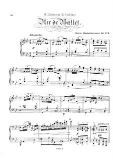 Eight Characteristic Pieces, Op.36: No.5 Air de ballet by Moritz Moszkowski