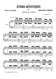 Études artistiques, Op.42: No.2 Pres de la source by Benjamin Godard