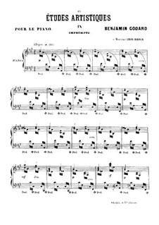 Études artistiques, Op.42: No.9 Impromptu by Benjamin Godard