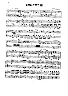 Concerto for Two Pianos and Orchestra No.10 in E Flat Major, K.365: Arrangement for piano by Wolfgang Amadeus Mozart