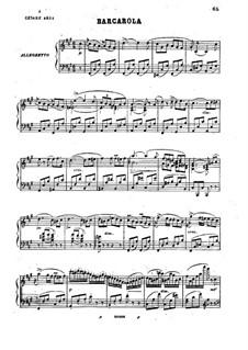 Barcarole, Op.35: Barcarole by Stefano Golinelli