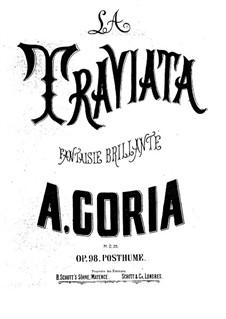 Fantasia on Theme from 'La Traviata' by Verdi, Op.98: Fantasia on Theme from 'La Traviata' by Verdi by Alexandre Édouard Goria