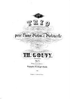 Piano Trio No.1 in E Major, Op.8: Piano Trio No.1 in E Major by Louis Théodore Gouvy